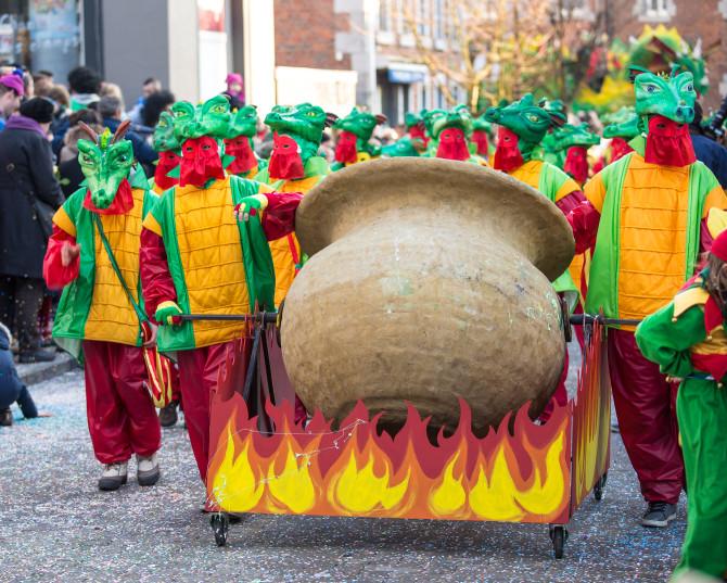 Carnavalsoptocht Marche-en-Famenne