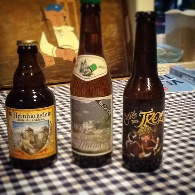 Nog wat lekkere biertjes uit de #Ardennen #Malmedy #Trolls #Reinhardstein #bier #beer #beerlovers