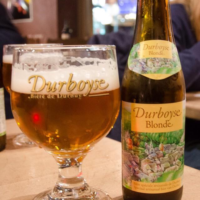 Lekker blondje in #Durbuy #Ardennen #beer #bier #beerlovers