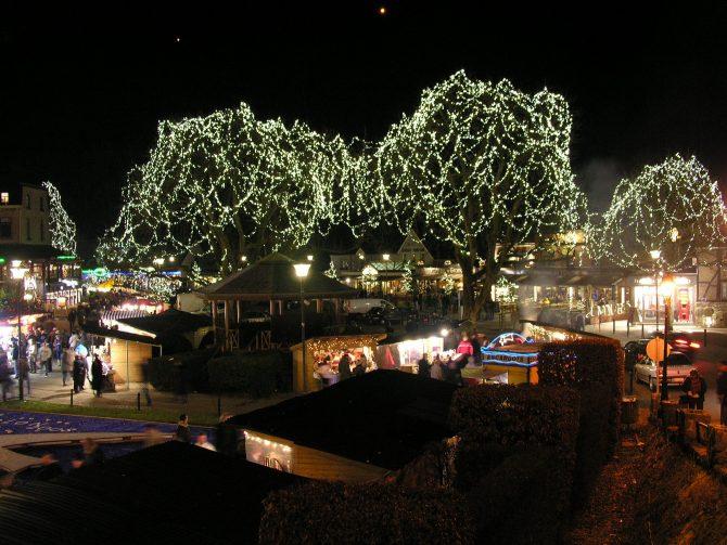 De kerstmarkt van Durbuy