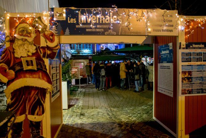 De kerstmarkt van Malmédy